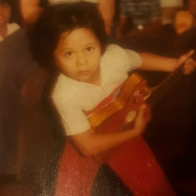 Me playing guitar at 6 years old