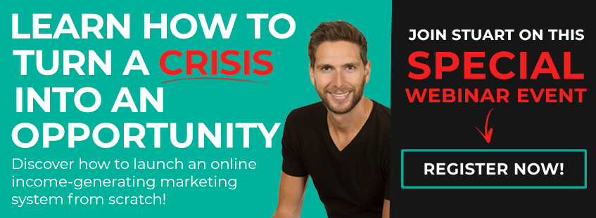 Turn a crisis into an opportunity training webinar