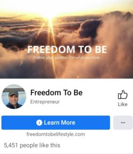 Freedom To Be Facebook page